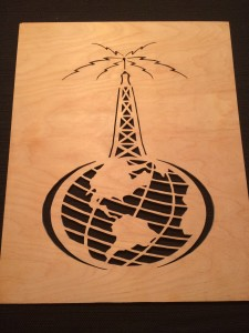 Antenna Earth Fretwork