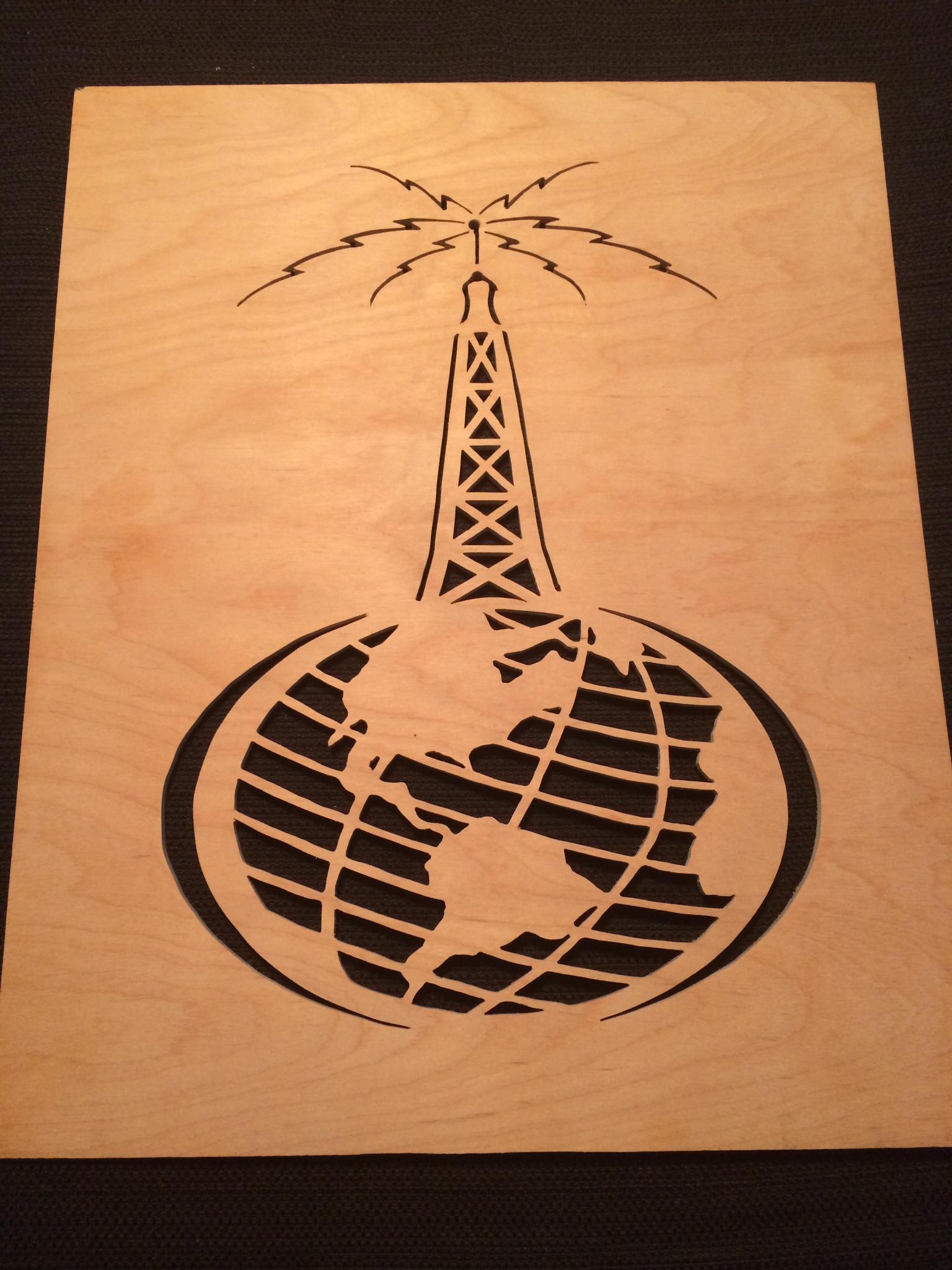 Antenna Earth Fretwork