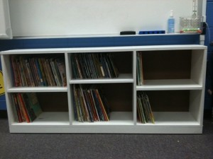 Bookcase Made for a Classroom