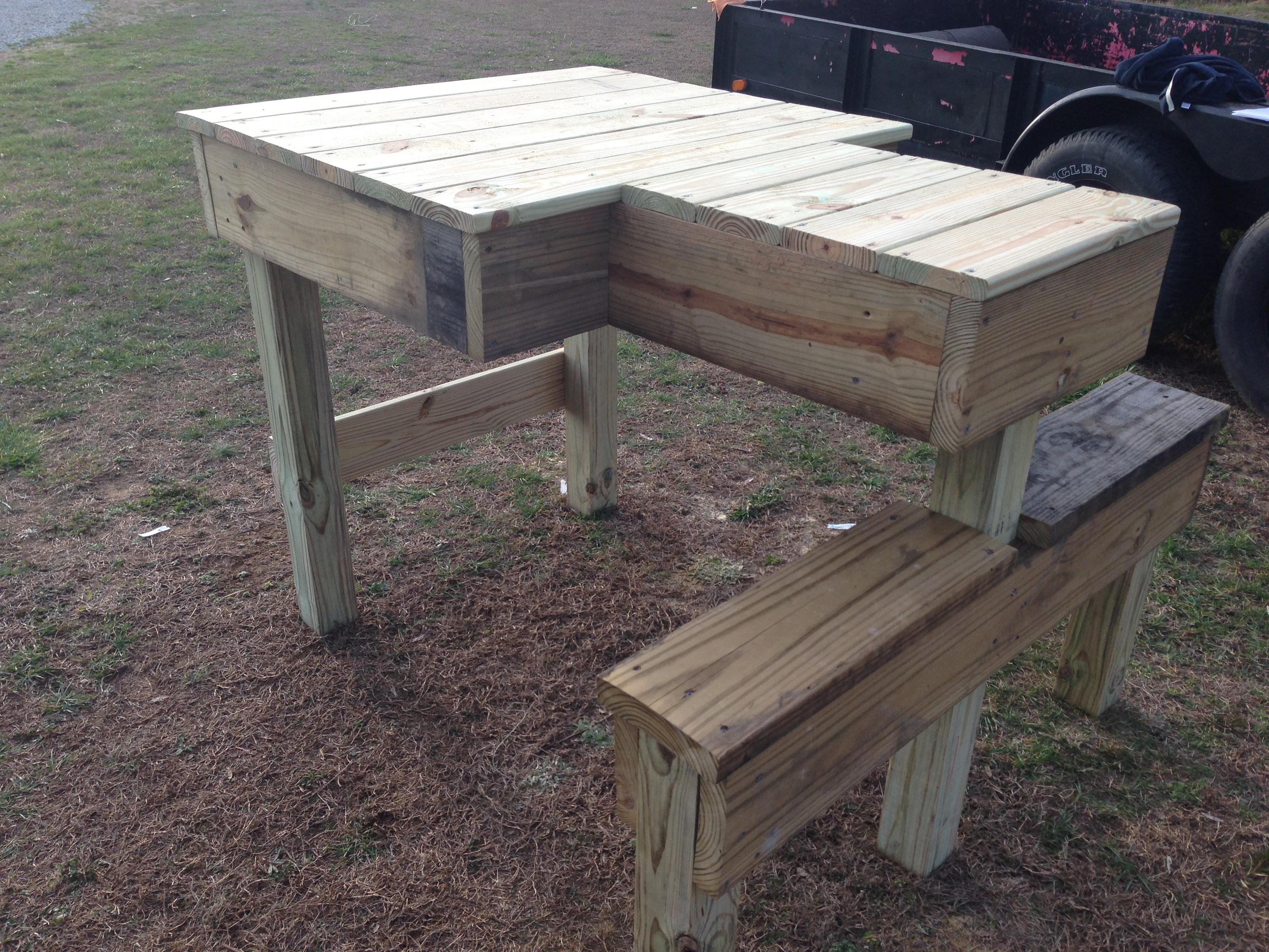 Shooting Bench | Atlanta Woodworking