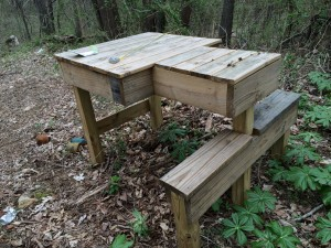 Outdoor Shooting Bench